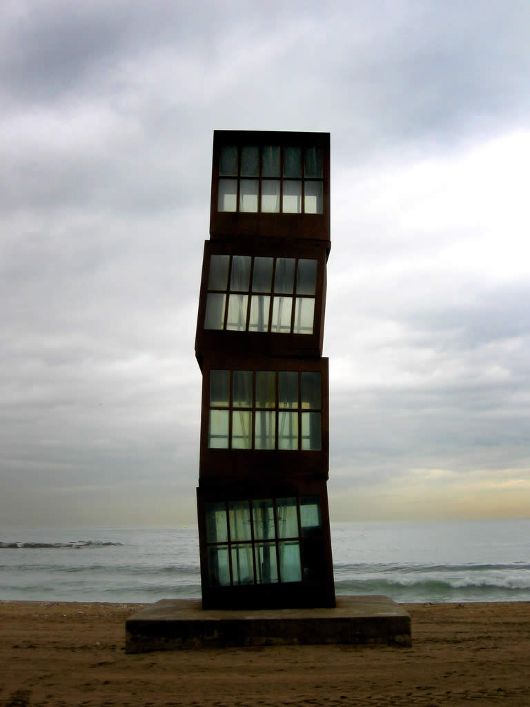 Barcelona Beach Sculpture