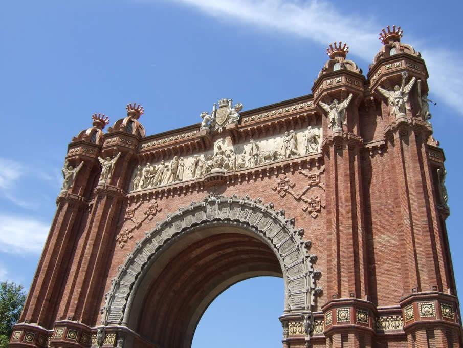 Barcelona - Arc de Triomphe
