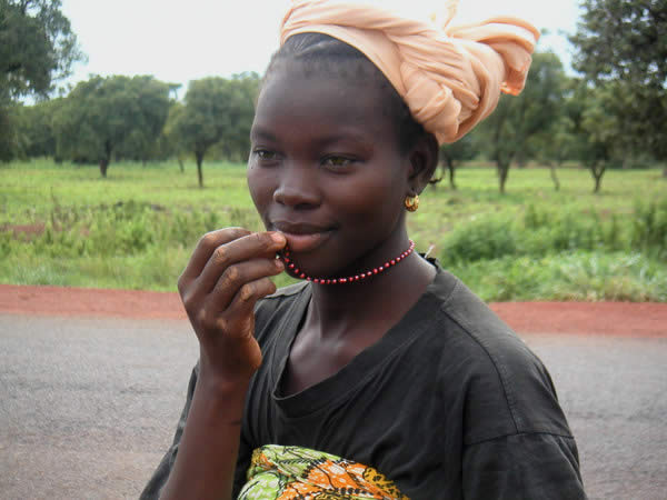 Girl from Mali