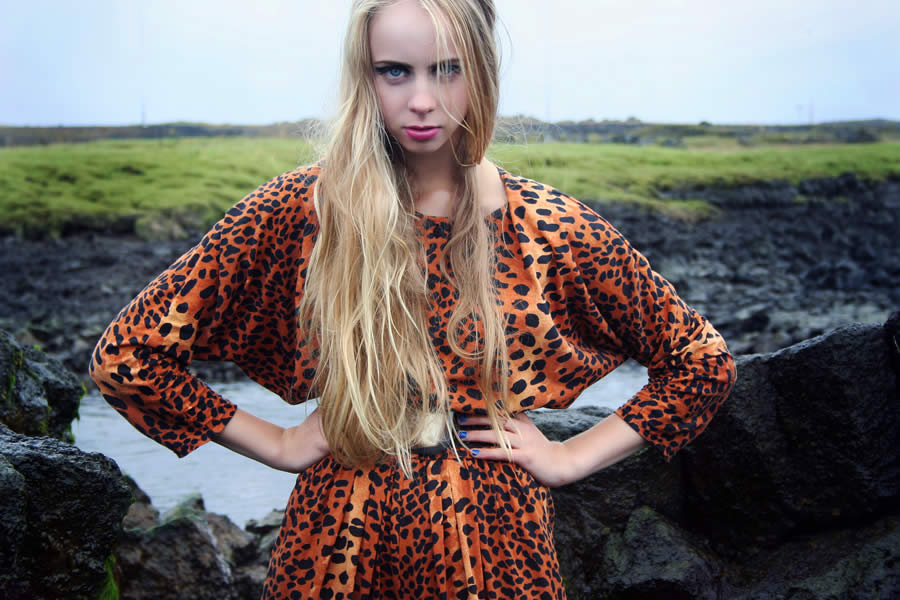 Iceland Lady