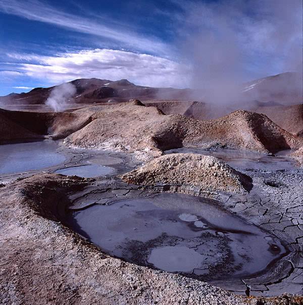 Altiplano : Geysers