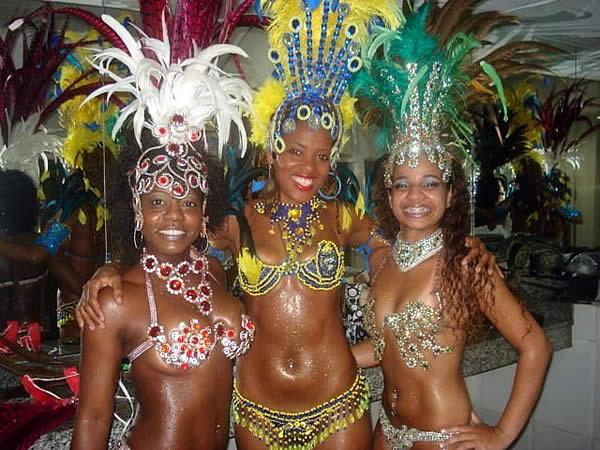 Copacabana Rio Бразилия Samba Show