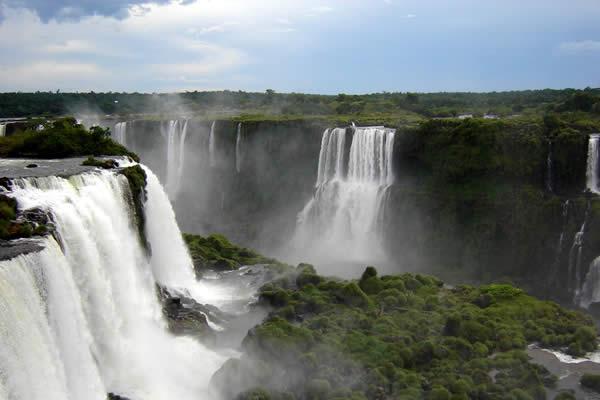 Потрясающие водопады