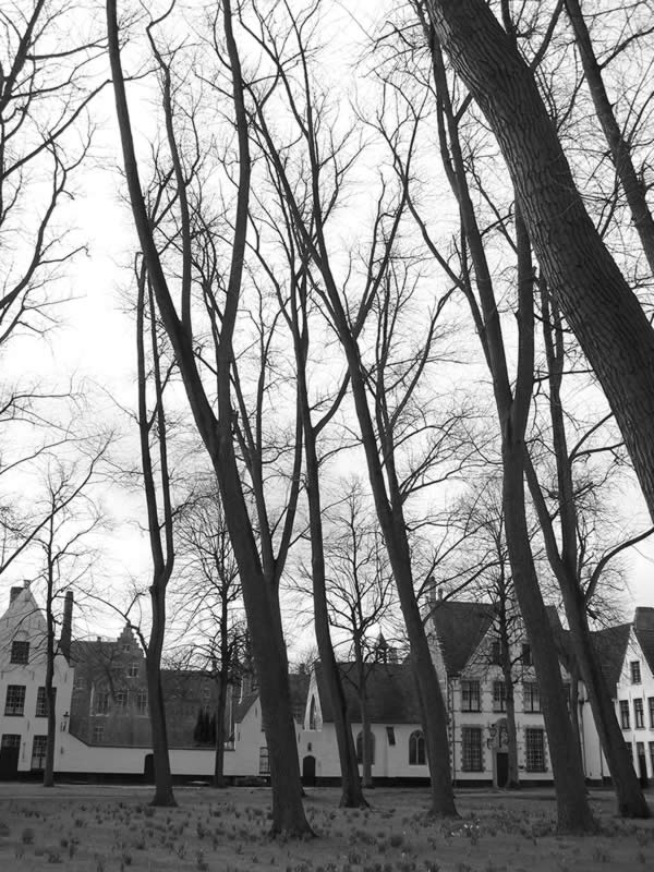 Брюгге, ле Beguinage