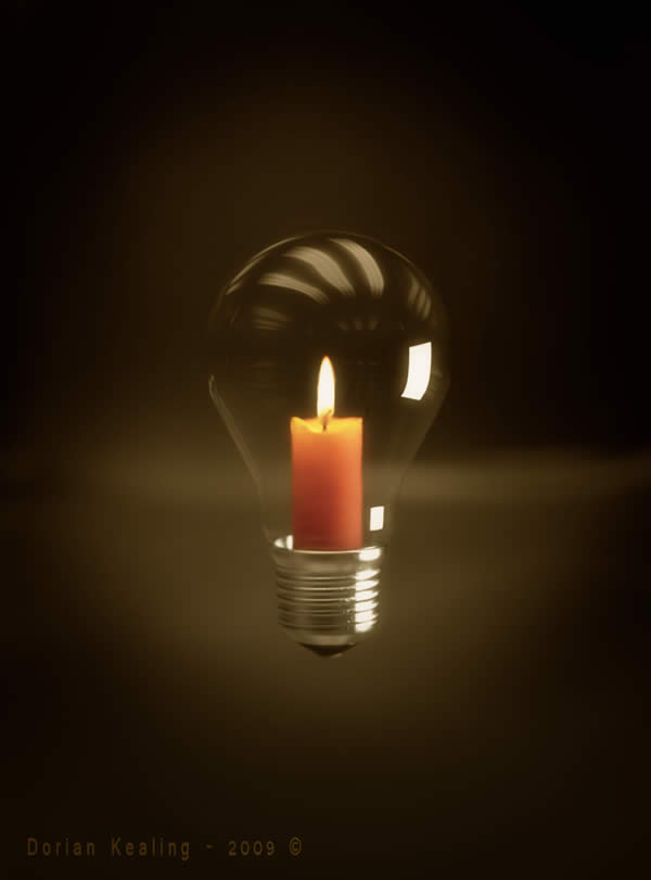 Wax and Light Bulb