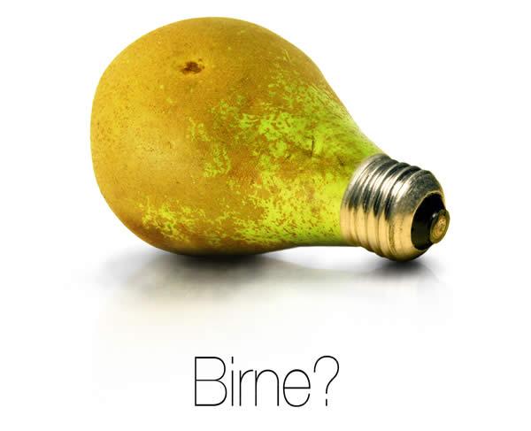 Birne?