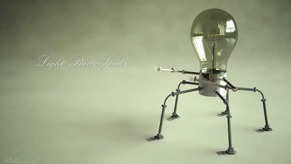 Light Bulb Spider