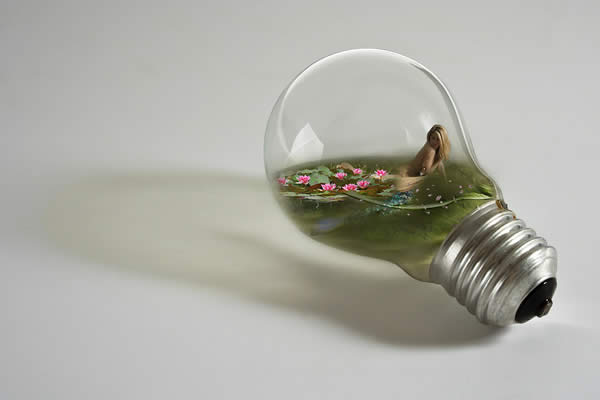 Mermaid in Bulb