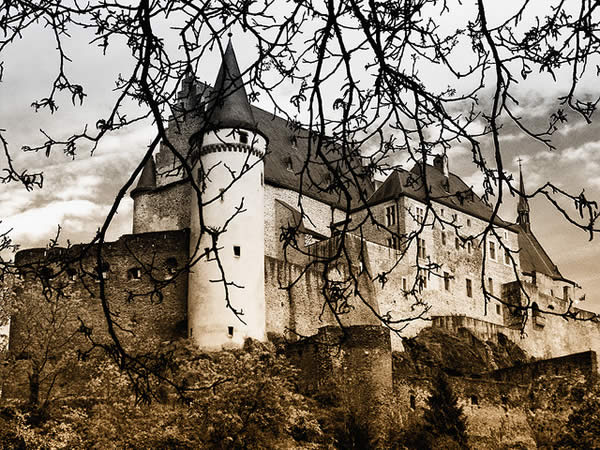 Castle of Vianden again