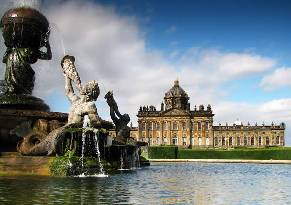 Castle Howard With Atlas