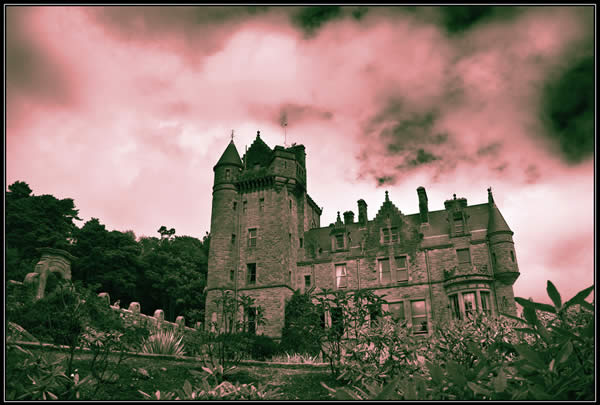 Belfast Castle - Cross Processed