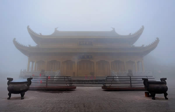 A Temple in the Mist