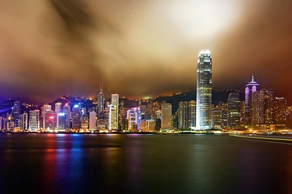 Panorama of Hong Kong Island