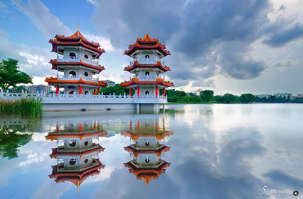 Chinese Garden, Singapore - Reflection