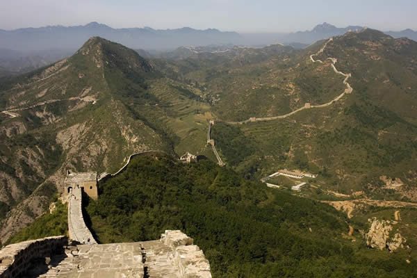 Simatai Great Wall of China - long shot