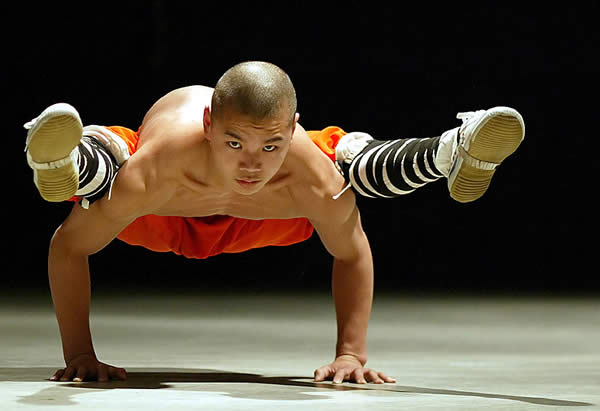 Shaolin Monk of China