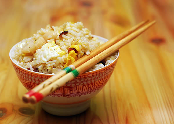 Chinese Fried Rice for Iftar