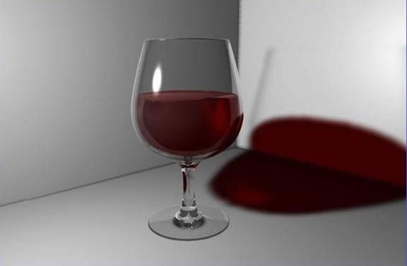 Making a Glass and a Wine Bottle with C4D