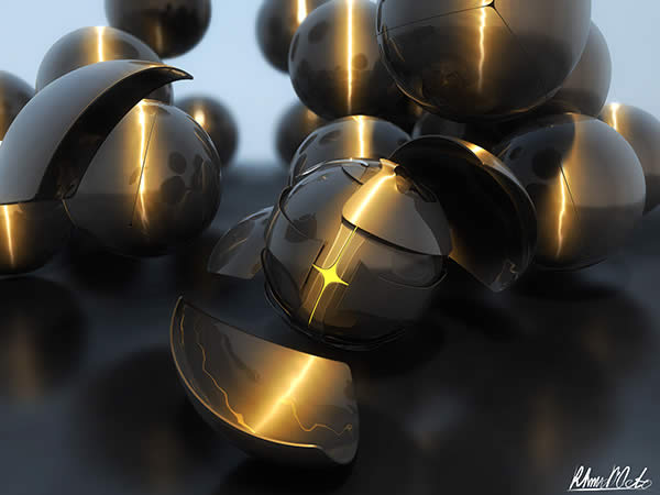 Create an Abstract Armored Sphere Scene in Cinema 4D