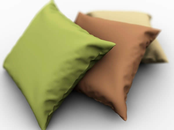 Modelling and Rendering a Pillow