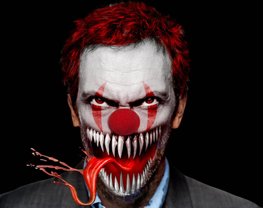 Digital Drawing: 50 Scary Clowns that Will Haunt in Your ...