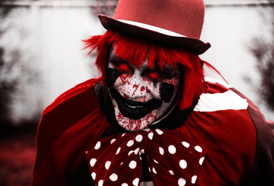 Red Evil Clown