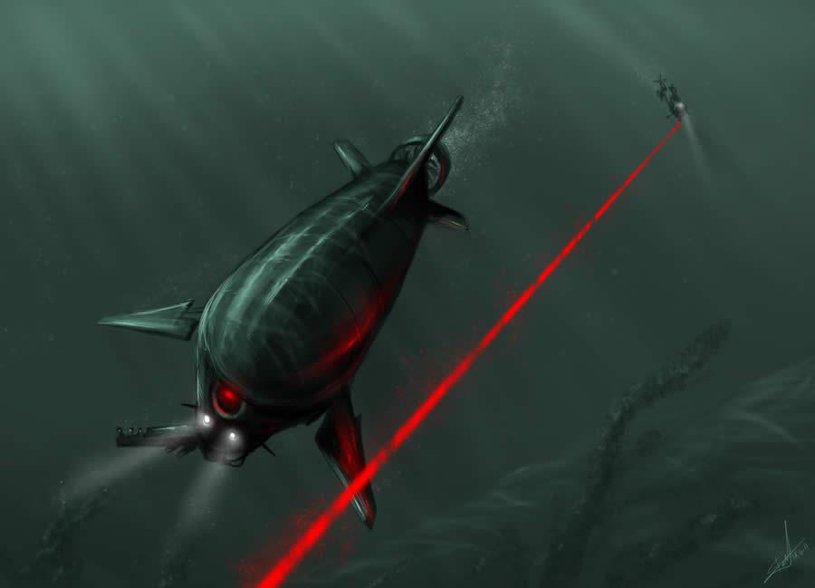Underwater Lasertag