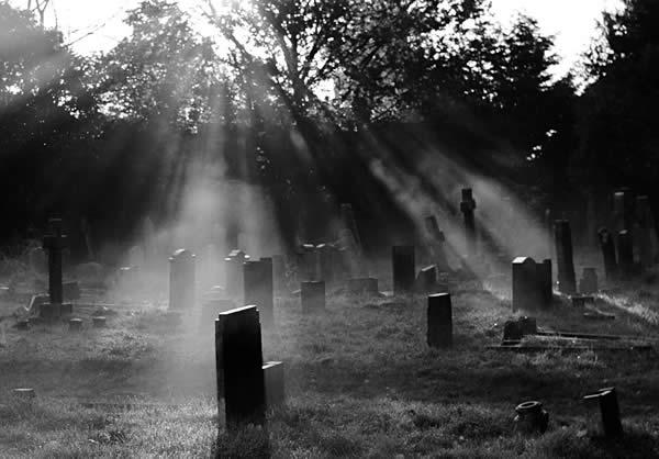 Cemetery Light