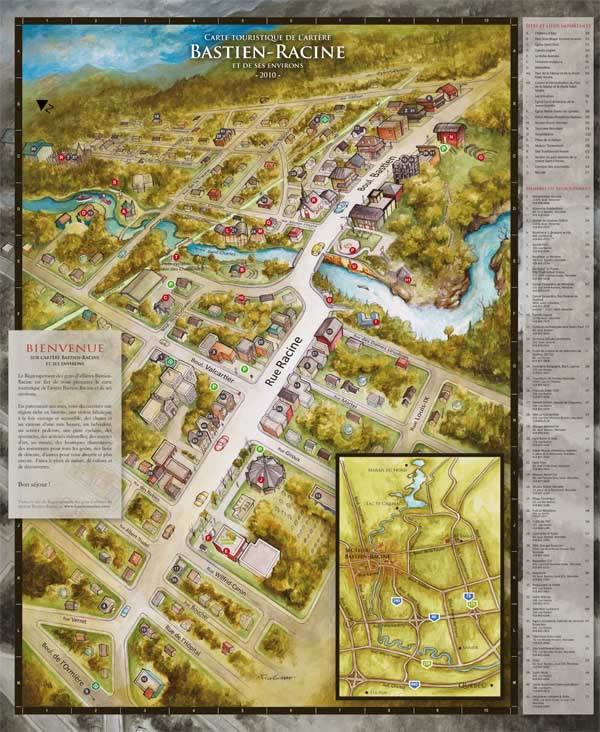 Bastien-Racine Map 2010