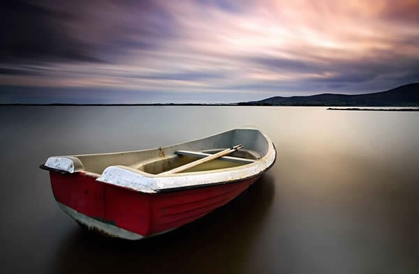 Rowing Boat at Greencastle