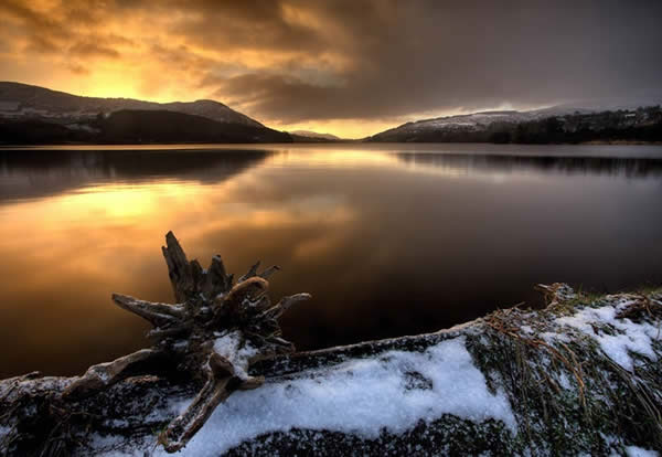 Camlough Lake at Dawn