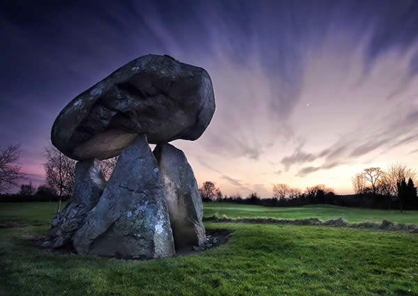 Twilight At Proleek Dolmen