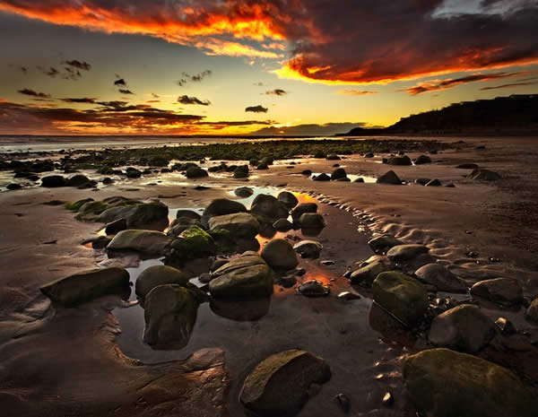 Giles Quay Sunset - Co Louth