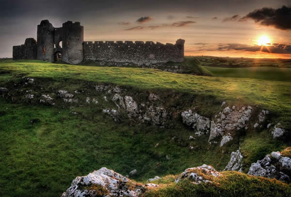 Ancient Paths - Roches Castle, Co Louth