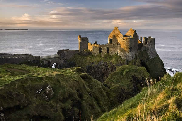 Evening Light at Dunluce