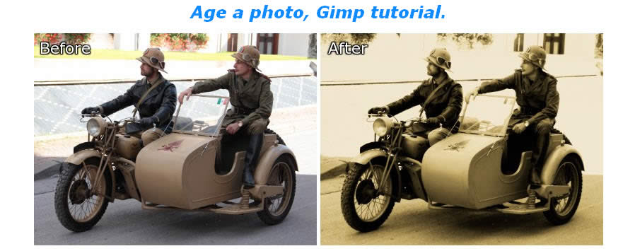 How to Age a Photo