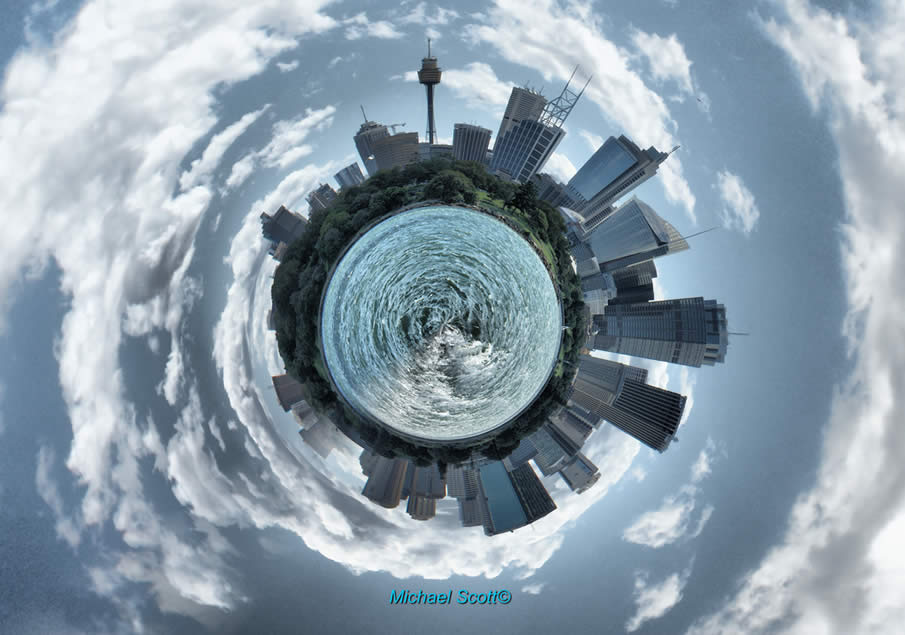 How to Make a Globe/Planet Photo Manipulation