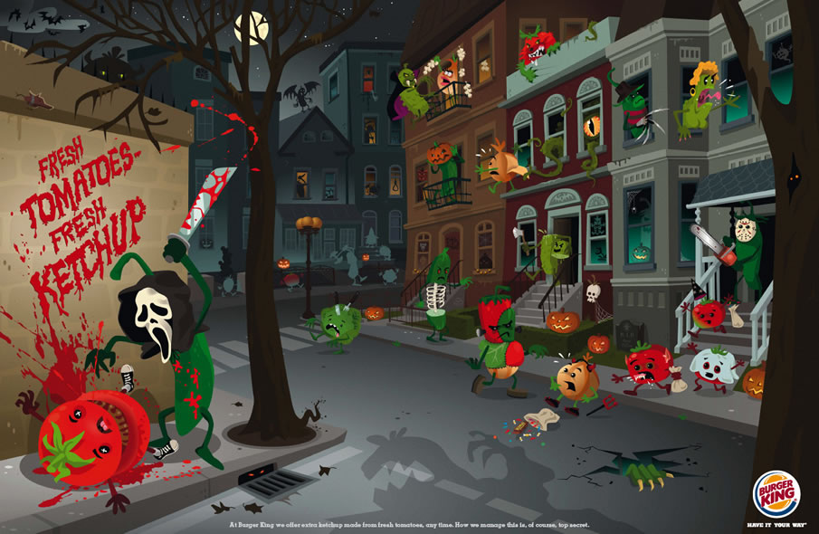 Burger King: Veg City, Halloween