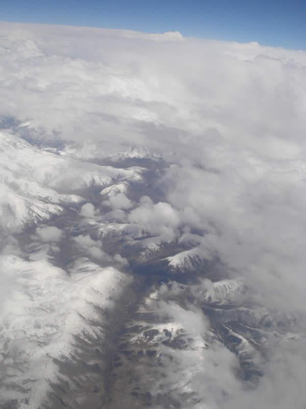 flight from Chengdu to Lhasa