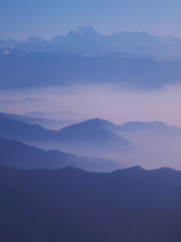 Dawn on the Himalaya