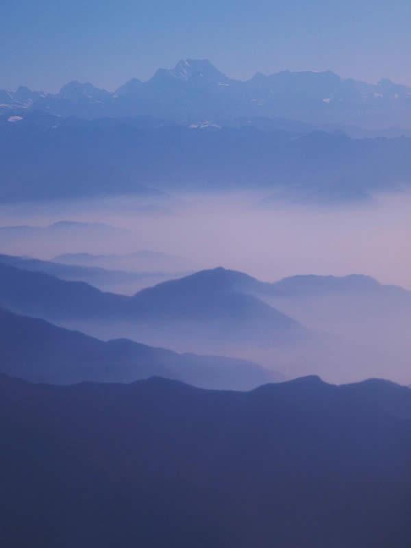 Dawn on the Himalaya