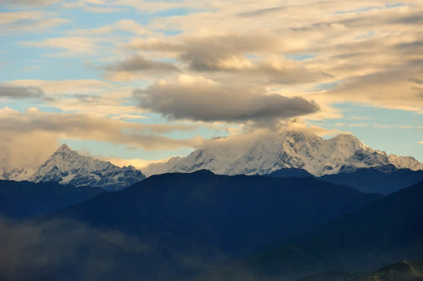 Himalaya from Nagarkot