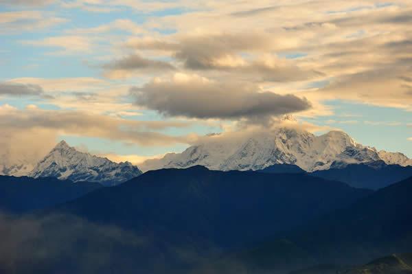 Himalaya from Nagarkot