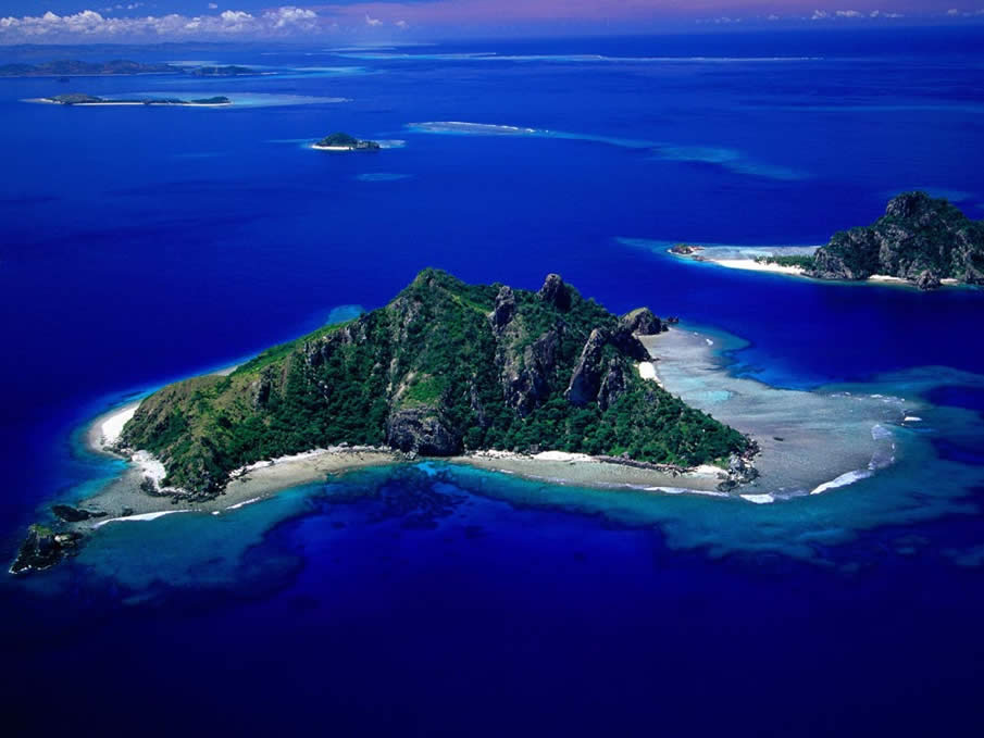 Aerial View of Monu Island