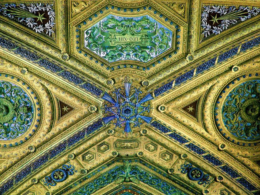 Vatican Ceiling