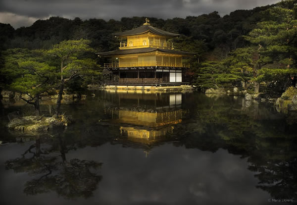 Kioto. Kinkaku-ji