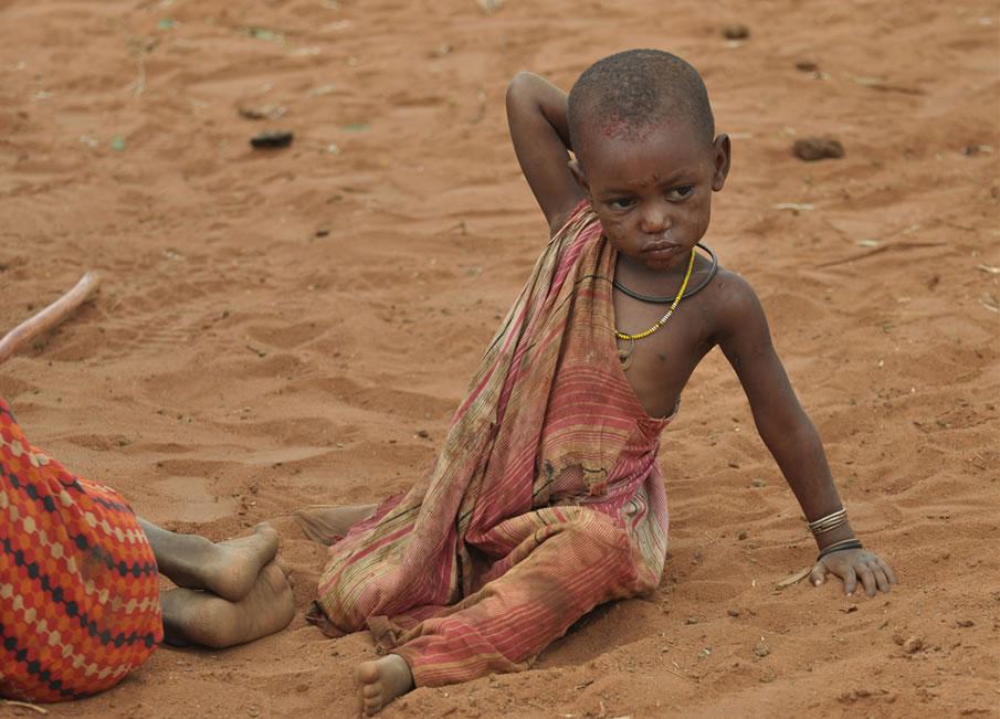 Kenya - Enfant Masaï