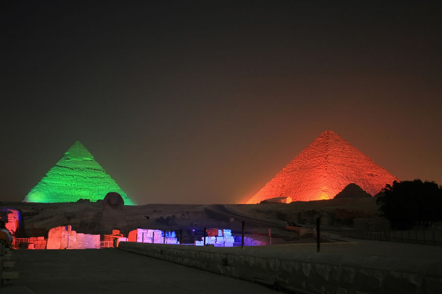 Pyramids and Necropolises of Giza