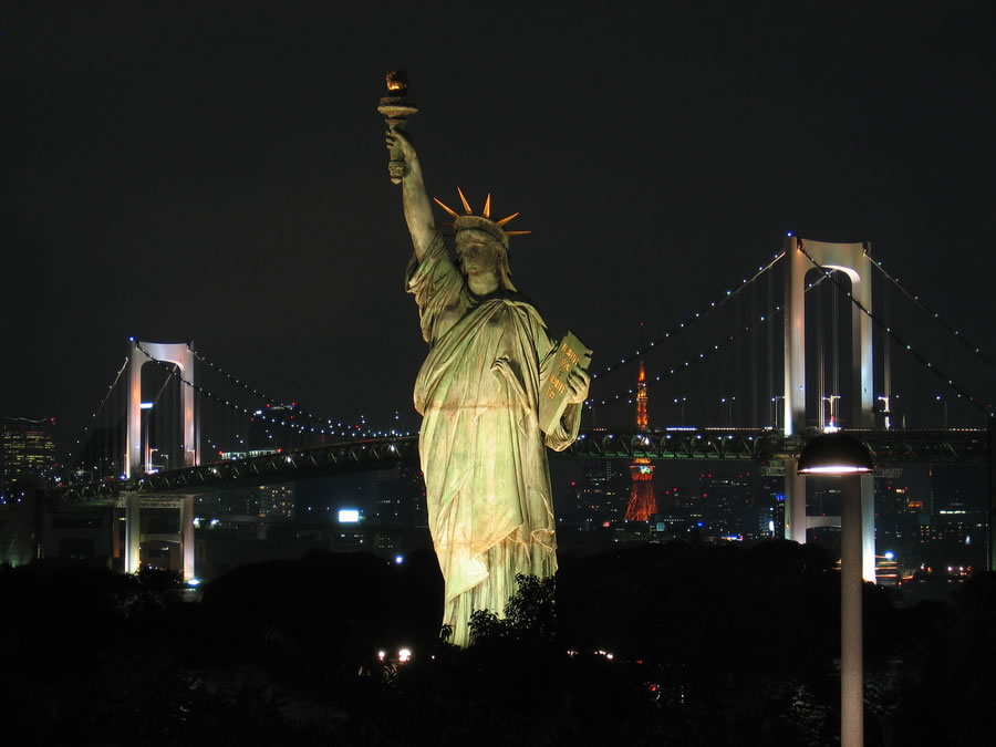 Statue of Liberty in Odaibo