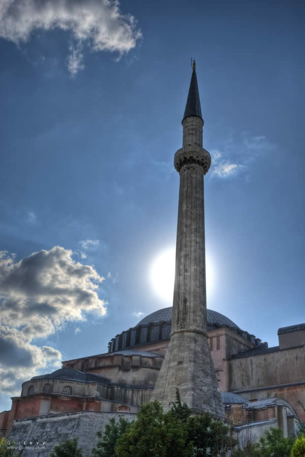 Agia Sofia Mosque in the Greek Island of Limnos